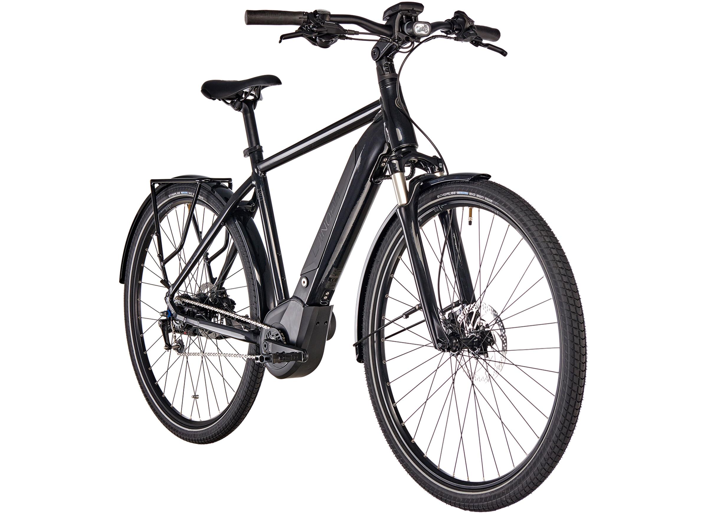 1c711c1e799 Winora Sinus iN8 Urban E-City Bike Men black at Bikester.co.uk